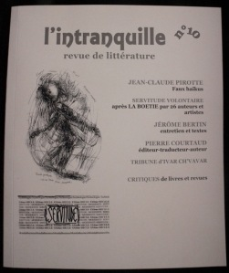 revue l'intranquille N°10